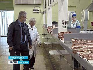 Россельхознадзор начал проверку рынков в Воронежской области