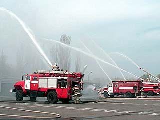 Российской пожарной охране исполняется 362 года