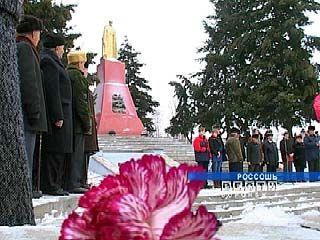 Россошь отмечает Дни освобождения от немецко-фашистских захватчиков