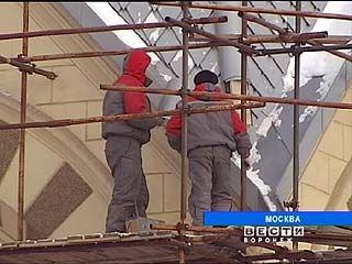 Россошанцы реставрируют московский кафедральный собор Петра и Павла