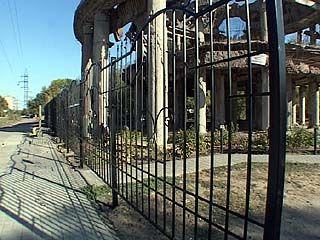 """""""Ротонда"""" полностью закрыта для доступа"""