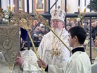 Рождество в храмах Воронежской области встретили десятки тысяч прихожан
