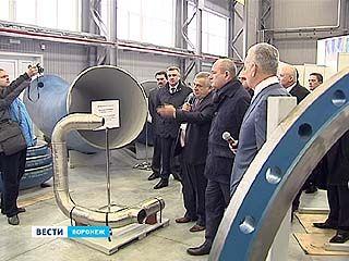 """Руководители """"Газпрома"""" и Воронежской области достигли соглашения о подписании """"Дорожной карты"""""""