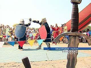 Рыцари из Москвы и Воронежа приняли участие в баталии у села Круглое