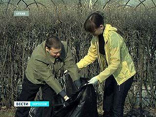 С 1 апреля в Воронеже стартует месячник по благоустройству