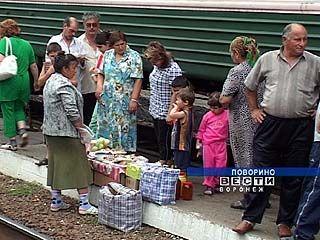 С 1 сентября разносная торговля на перронах Воронежской области запрещена