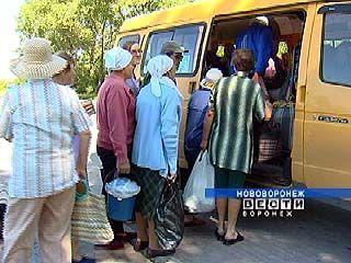 С 18 апреля в Воронеже появятся восемь автобусных маршрутов для садоводов