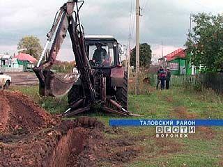 Самое крупное село Таловского района останется без газа