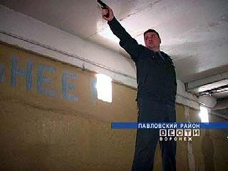 Самый меткий милиционер живёт в Павловском районе
