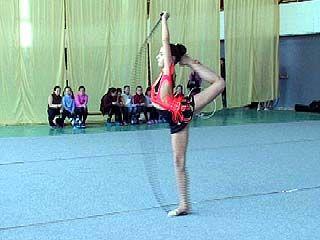 Сборная области по спортивной гимнастике готовится к соревнованиям ЦФО