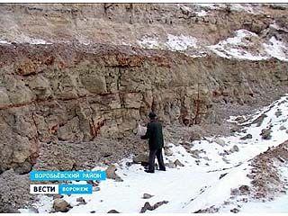 Село Никольское Воробьевского района славится залежами голубой глины