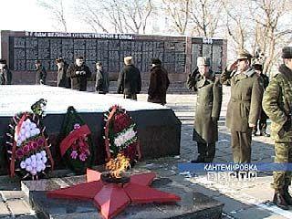 Селяне отпраздновали 62-ую годовщину освобождения Кантемировки