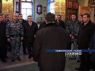 Семилукскую колонию посетили члены попечительского совета