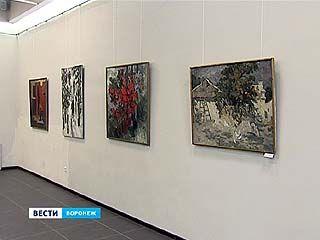 Семья художников показала воронежцам три взгляда на мир