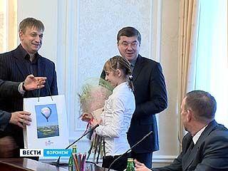 Сергей Колиух встретился с титулованными воронежскими гимнастками