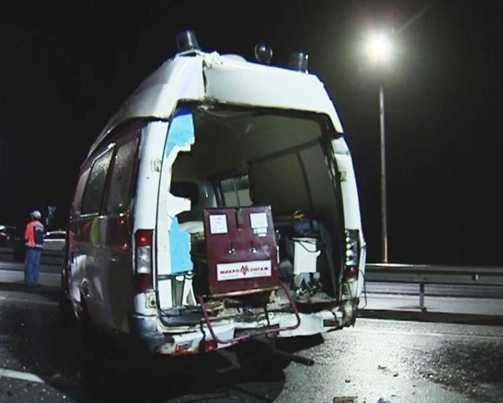 ВИДЕО: Серия из трёх аварий под Воронежем – сотрудники ДПС и неотложки в тяжёлом состоянии