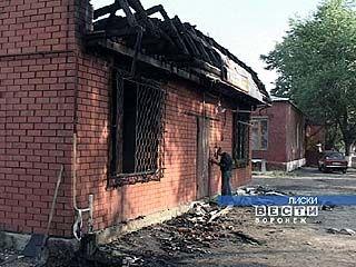 Сгорел частный магазин