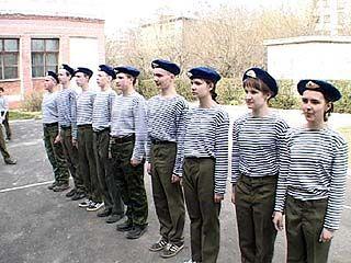Школьников под видом игр готовят к армии