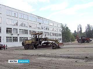 Школьные стадионы в Воронеже решили ремонтировать