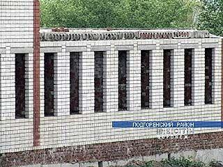 Школу в Подгоренском не могут достроить из-за нехватки средств