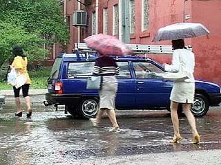 Сильный дождь в Воронеже стал причиной очередного наводнения