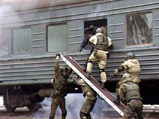 Силовики отрабатывали меры по задержанию террористов