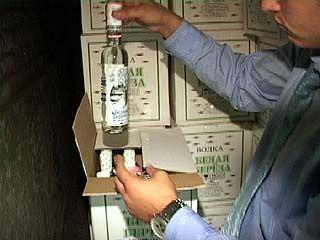 Склад контрафактного алкоголя обнаружен в Железнодорожном районе