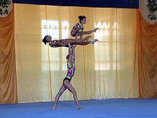 Скоро определятся победители соревнований по спортивной акробатике