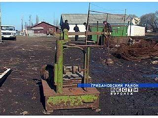 Скупщики цветного металла обнаружили артиллеристский снаряд