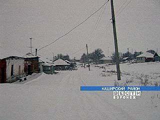Снег отрезал село Рябчево от внешнего мира
