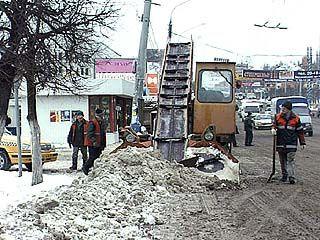 Снегопад усмиряюще повлиял на воронежских водителей