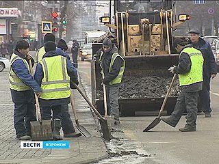 Снегоуборочная техника Воронежа к зиме готова, но к ледяному дождю не приспособлена