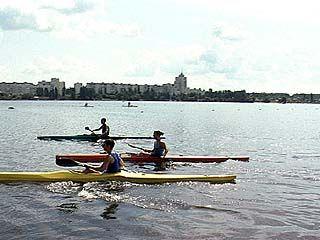 Соревнования по гребле прошли в Воронеже
