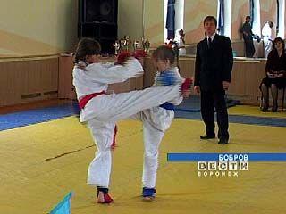 Соревнования по каратэ прошли в Боброве