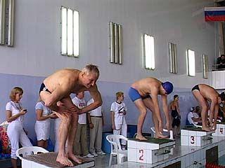 Соревнования по плаванию среди ветеранов прошли в столице Черноземья
