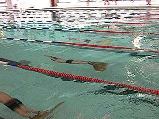 Соревнования по подводному плаванию проходят в Воронеже