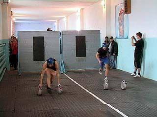 Соревнования по пожаротушению прошли в Воронеже