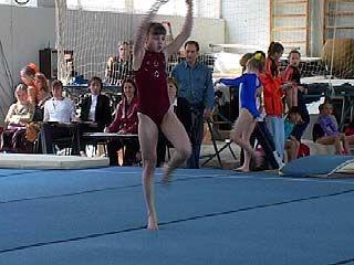 Соревнования по спортивной гимнастике стартовали в Воронеже