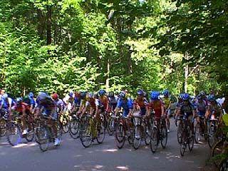 Соревнования по велоспорту финишировали в Воронеже