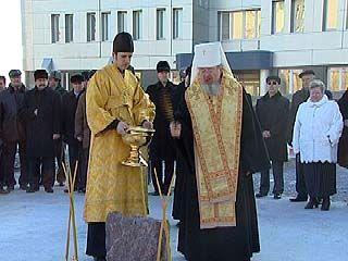Состоялась церемония закладки первого камня Облпрокуратуры