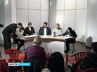Состоялась жеребьевка эфирного времени среди воронежских кандидатов в президенты России
