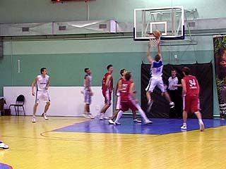 Состоялись матчи второго тура Чемпионата России по баскетболу