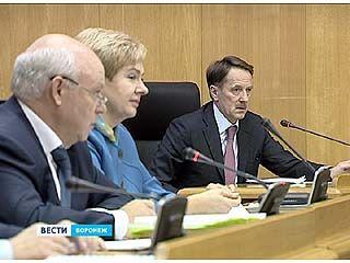 Состоялось последнее в этом году заседание Воронежской областной думы