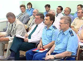 Состоялось совещание руководителей правоохранительных органов
