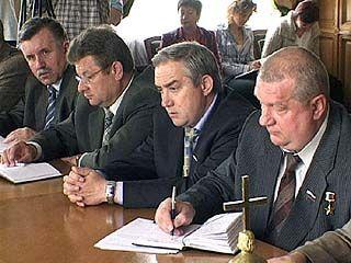 Состоялось внеочередное заседание комитета облДумы по предпринимательству