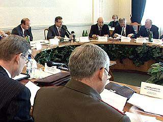 Состоялось заседание коллегии органов исполнительной власти