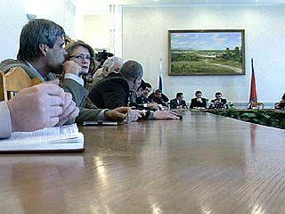 Состоялось заседании избирательной комиссии области