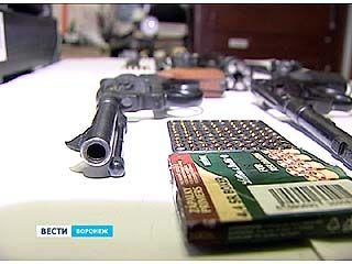 Сотрудники ФСБ перекрыли канал поступления боеприпасов на воронежские подпольные рынки