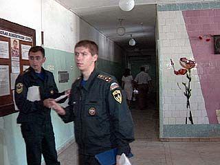 Сотрудники МЧС посетили школы Воронежа
