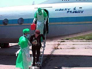 Сотрудники Роспортебнадзора провели учения в Воронежском аэропорту